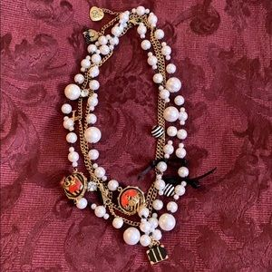 """😍Betsy Johnson """"Cruise"""" Faux Pearl Necklace"""
